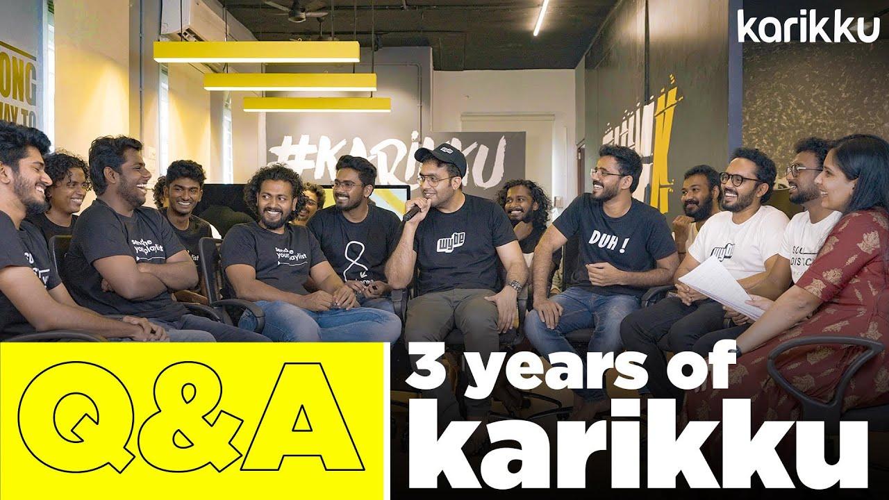 Q&A Session | 3 Years of Karikku
