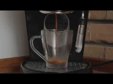 Coffee Latte on a Tchibo Cafissimo Classic Espresso Maker