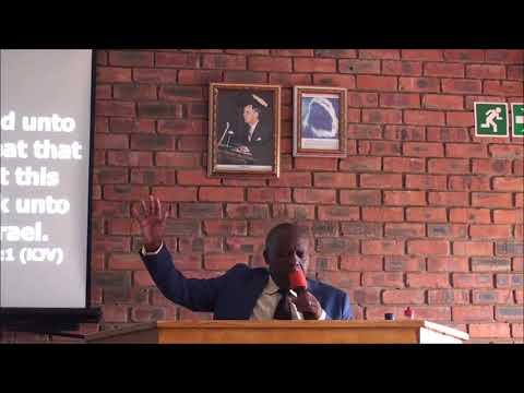 Adamant harder than flint - pastor Masaiti(Mutare)
