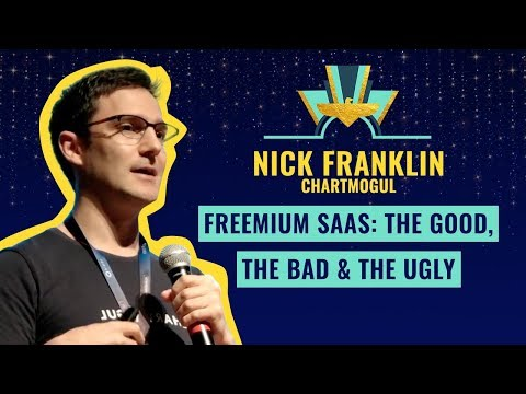 """""""Freemium SaaS: the good, the bad & the ugly"""" 👻 by Nick Franklin @ChartMogul"""