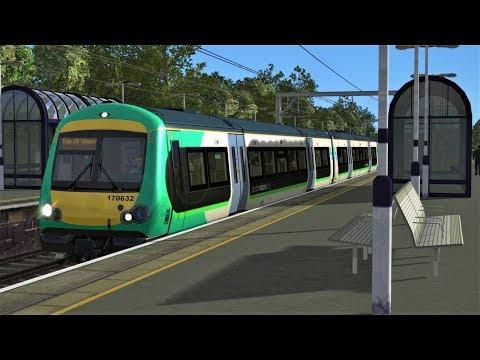 Train Simulator 2018: Class 170 Bromsgrove-Birmingham New Street (XCROUTE)