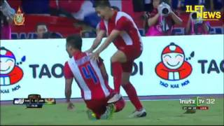 Goal Highlights Thailand 2 0 Jordan King's Cup 2016 FINAL