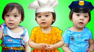 Baby Maddie Chooses New Professions for Kids | Funny Jobs and Career Kid Video