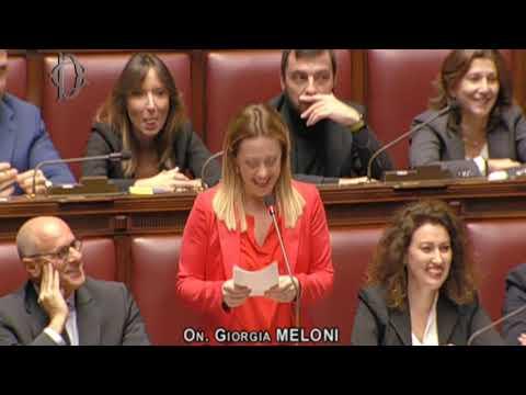 Una straordinaria Giorgia Meloni interviene alla Camera sul Bilancio. Da non perdere!