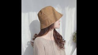 애지중지상점_봄 가을 여성 버킷햇 모자 여름 빅사이즈 …
