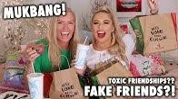 NANDO'S MUKBANG with MY MUM!! - FAKE friends, toxic youtubers etc ..😅😱