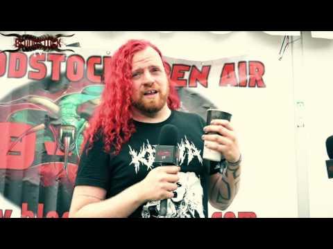 PTEROGLYPH  Interview - Bloodstock 2016