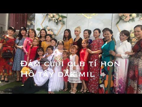 Tiệc cưới linh đình tại nhà hàng Tuấn thảo hồ Tây Đắk mil || Trường vlog