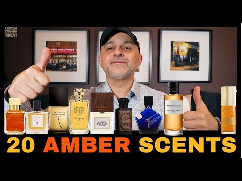Top 20 Amber Fragrances | My Favorite Amber Scents 2019 🧡🧡🧡
