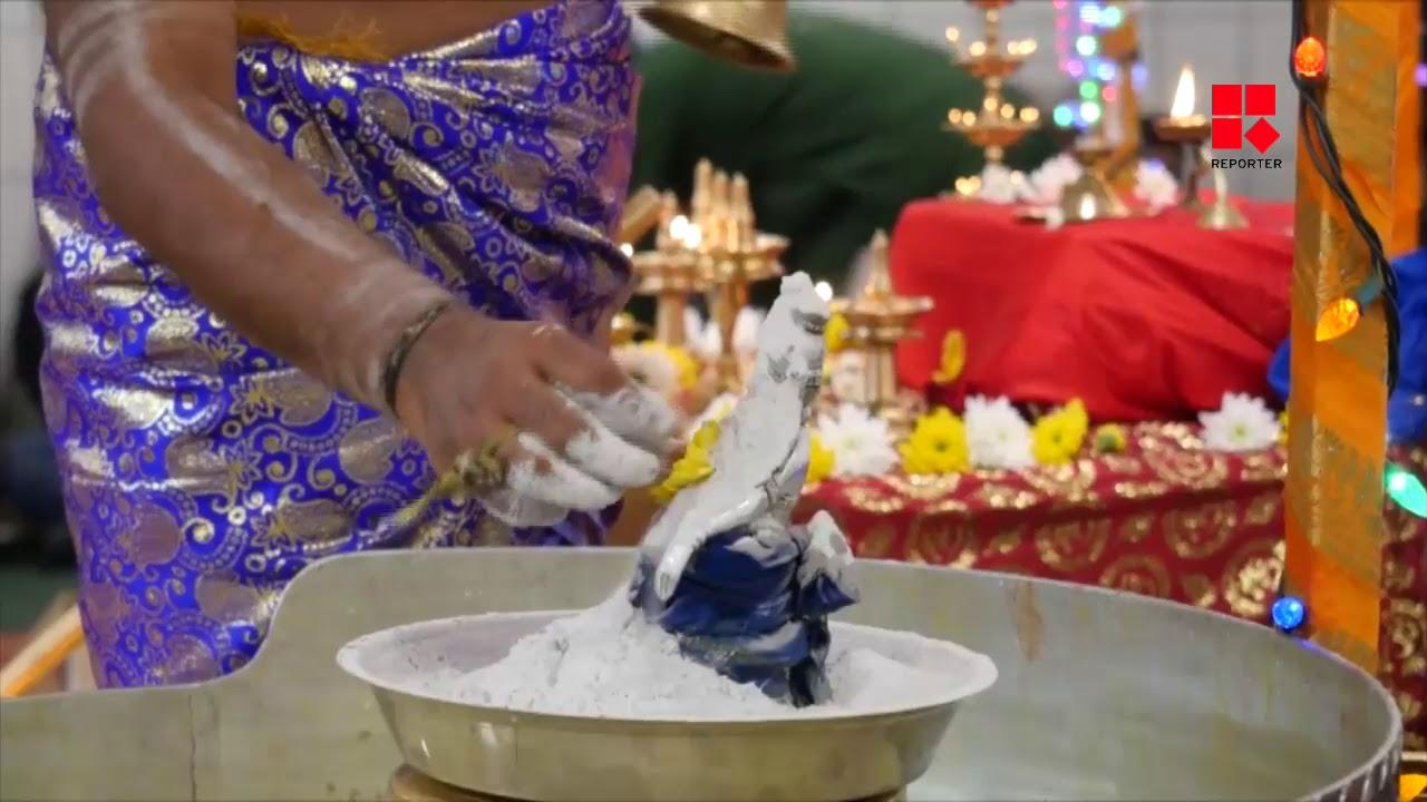 ബ്രിട്ടീഷ് കൊളംബിയയിലെ ദുര്ഗാദേവി ക്ഷേത്രത്തില് ഒത്തുകൂടി അയ്യപ്പഭക്തന്മാര്