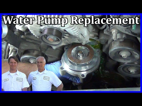 How to Replace a Water Pump in a Ford Explorer 4.6L V8 2002-2005