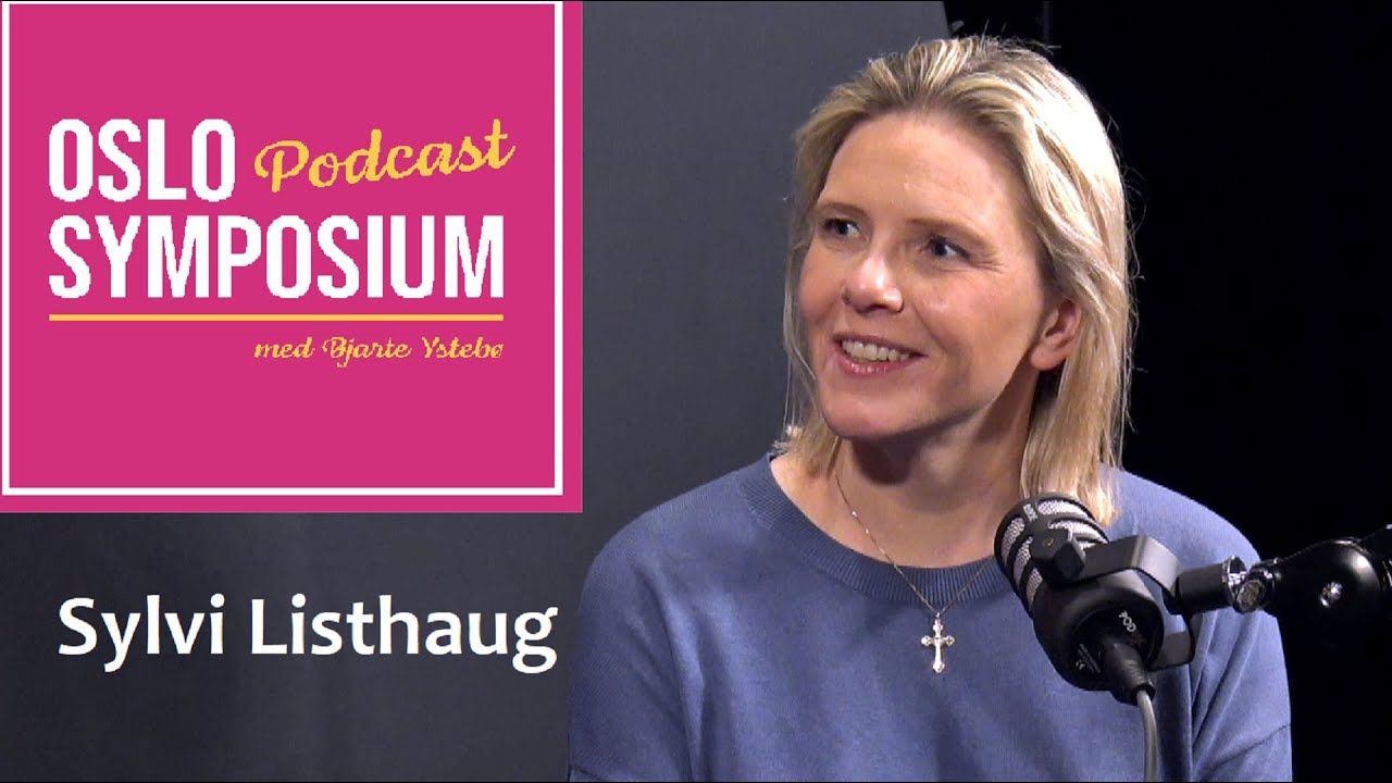 Sylvi Listhaugs er gjest i Oslo Symposiums podcast