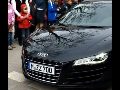 Audi R8 5.2 FSI Quattro - Bastian Schweinsteiger - FC Bayern München - Auto Car Supercar