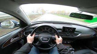2014 Audi A6 2.0 TFSI (180) POV TEST DRIVE