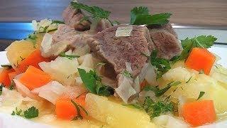Баранина тушеная, с овощами видео рецепт. Книга о вкусной и здоровой пище