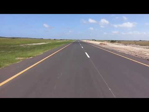 New tar road from Kosi Bay to Maputo and Ponta Do Ouro