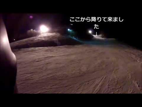 ニヤマ高原スキー場で基本的ドリル