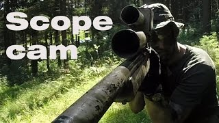 Airsoft Sniper Gameplay - Scope Cam - Operation Rapottenstein