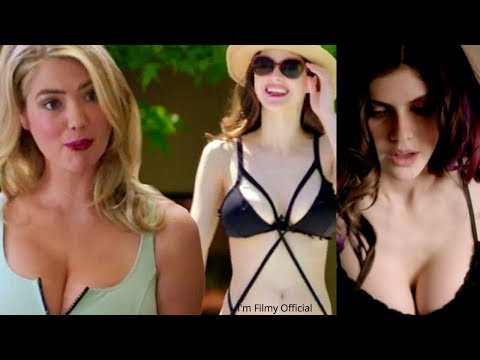 Alexandra Daddario & Kate Upton Hot Bikini Scene - The Layover - 2017