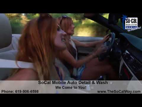 Professional Mobile Car Detailing in San Diego, Ca 619-906-6598