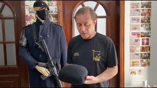 Como os policiais fazem para moldar um boina de Rota - do diretor Elias Junior