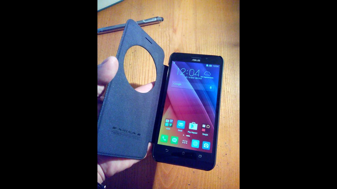 Силиконовый чехол на Asus Zenfone 2 Laser ZE550KL с блестящей .