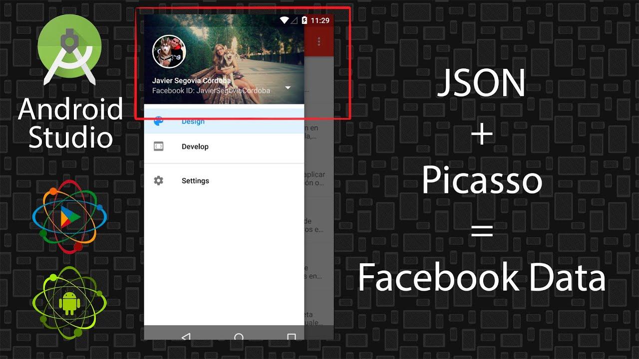 tutorial android studio conseguir informacia³n de la web json libreraa picasso youtube