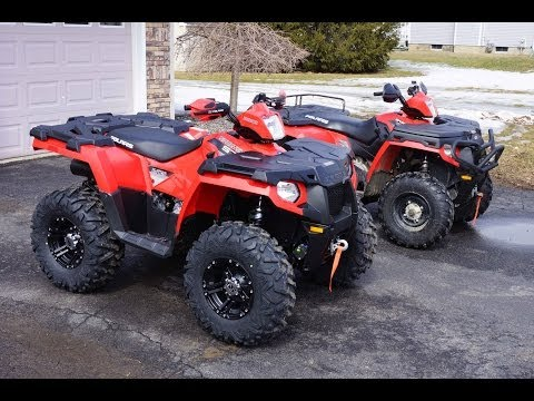 Sportsman Comparison 2014 570 Vs 2011 500 Ho Youtube