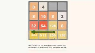 2048 Game SOLUTION Lösung
