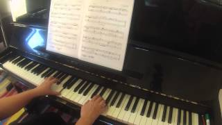 Aria by Domenico Scarlatti RCM piano grade 4 repertoire 2015 Celebration Series