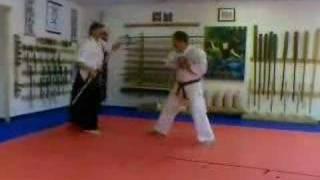 RyuKyu Kobudo Bo vs Sai Kumite Drill