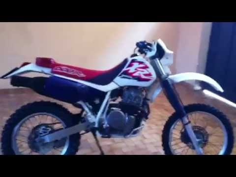 honda xr 600 r dall 39 allara anno 1996 youtube. Black Bedroom Furniture Sets. Home Design Ideas