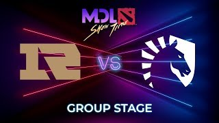 Royal Never Give Up vs Team Liquid - MDL Macau 2019: Group Stage