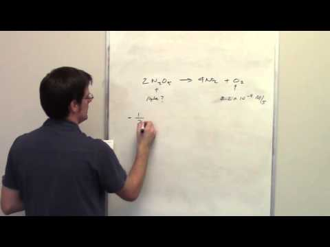 Chapter 14 – Chemical Kinetics: Part 8 of 17