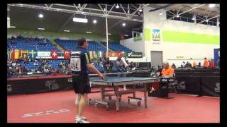 World Veterans Championships table tennis 2014 SEMI FINAL men 50 59