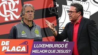 Luxemburgo no Vasco ou Jorge Jesus no Flamengo: quem é o melhor treinador?