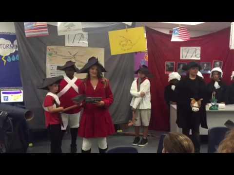 5th grade American History Living Timeline