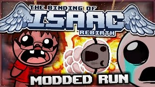 The Binding of Isaac: Rebirth - Modded Run: Undefined Eternity! (Godmode)