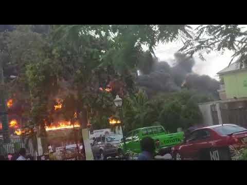 Tanker Explodes On Lagos - Ibadan Expressway, Vehicles Burnt! (Photos, Video)