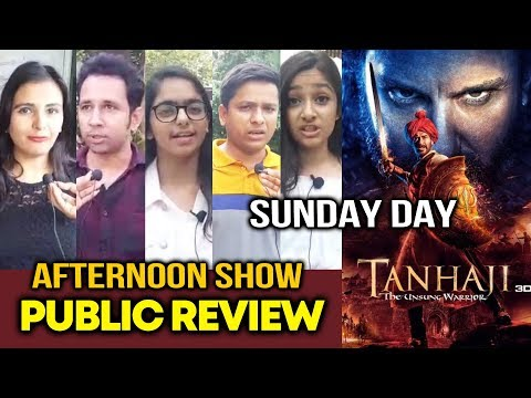 Tanhaji PUBLIC REVIEW | 3rd Day |  AFTERNOON SHOW | Ajay Devgn, Kajol | Tanhaji: The Unsung Warrior