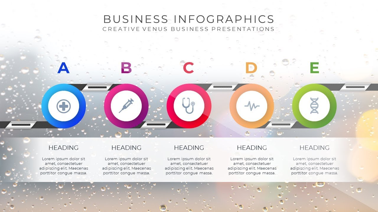 Business Process Diagram, INFOGRAPHIC Design Layout Easy ...