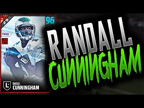 96 OVERALL RANDALL CUNNINGHAM | NEW QB, WHO DIS? - Madden 17 Ultimate Team Gameplay
