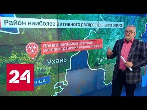 Снова о вирусе: что едят посетители рынков Китая Россия 24