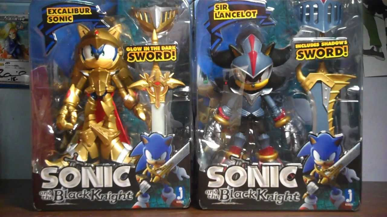 excalibur sonic amp sir lancelot shadow action figure by