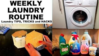 EASY LAUNDRY ROUTINE 2018 || Laundry hacks, tips, and tricks || Fav Laundry Products || ZEO DR