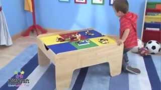 Kidkraft 2-in-1 Train & Lego Activity Table | 17577 | 17576