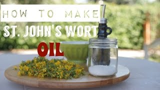 How to make St. John's Wort Infused Oil at home (Hypericum Perforatum) Thumbnail