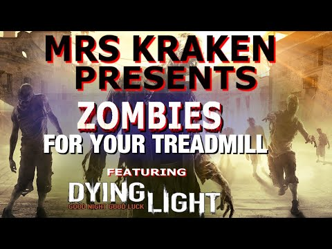 25 Minute Virtual Scenery for Treadmills with ZOMBIES! Use with treadmill or running in place