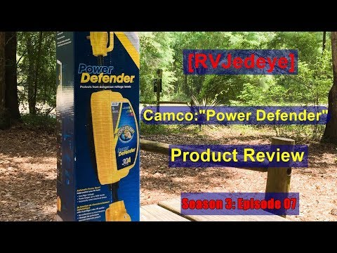 Product Review Camco Power Defender Rvjedeye Youtube