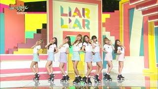 뮤직뱅크 - 오마이걸, 더욱 상큼하게 돌아온 소녀들 'Liar Liar'.20160401